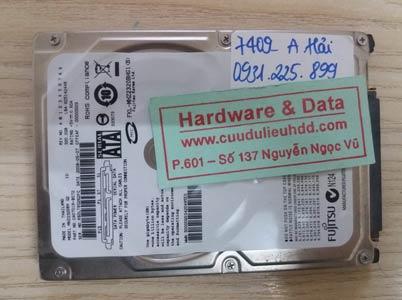 7409 fujitsu 320GB mất dữ liệu