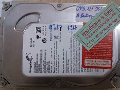 19-3 seagate 500GB hỏng cơ