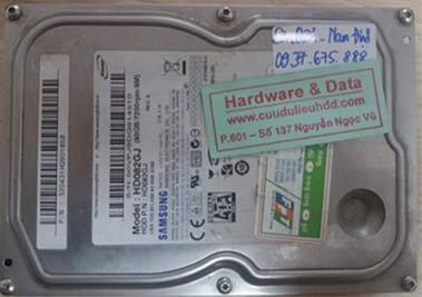 21-3 Samsung 80GB bị hỏng cơ
