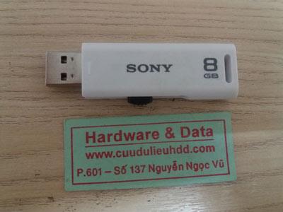24-03 USSB 8GB bị virus mất dữ liệu