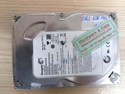 26-03 Seagate 250GB bị hỏng cơ