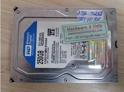 3-3 Western 250GB bị chết cơ