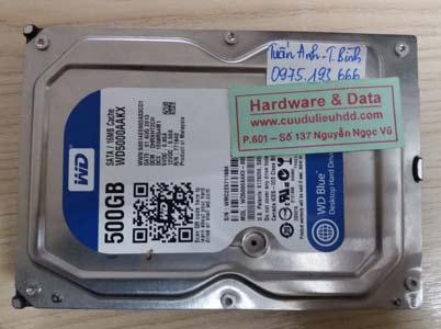 1- 3 Western 500GB hỏng cơ