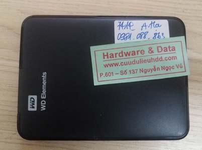 7414 box WD500 mất dữ liệu