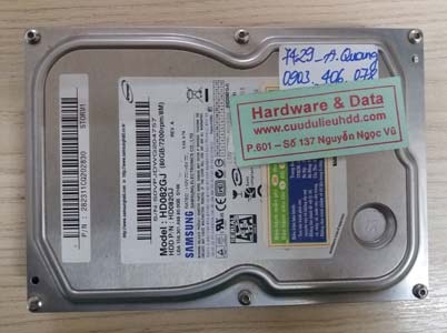 7429 Samsung 80GB chết cơ