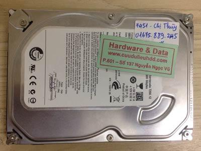 7451 Seagate 500GB bị chết cơ