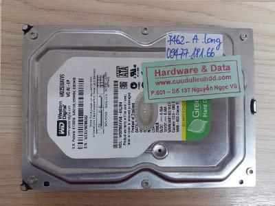 7462 Western 250GB bị hỏng cơ