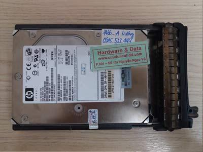 7466 HP 72.8GB bị xóa dữ liệu