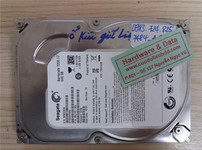 7484 Seagate 500GB đầu từ hỏng