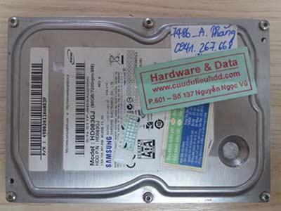 7486 Samsung 80GB đầu từ lỗi