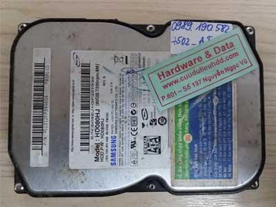7502 Samsung 80GB bị chết cơ