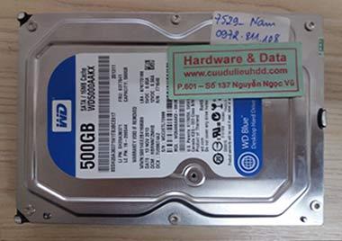 7529 Western 500GB lỗi đầu đọc