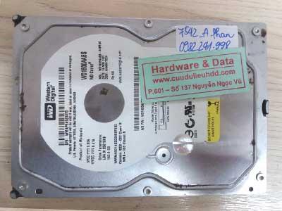 7542 Western 160GB lỗi cơ