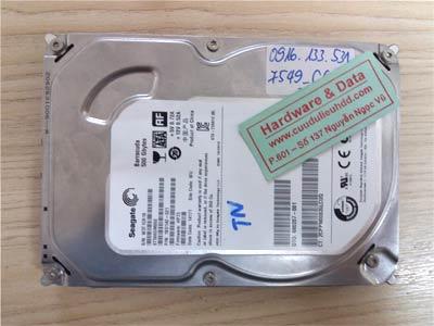 7549 seagate 500GB đầu từ lỗi