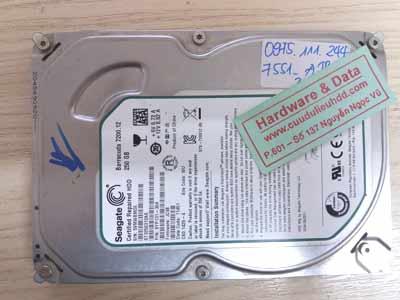 7551 Seagate 250GB lỗi đầu từ