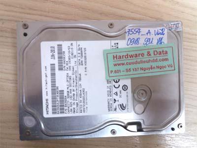 7554 Hitachi 320GB hỏng đầu từ