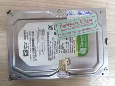 3-4 wwestern 250GB mất dữ liệu
