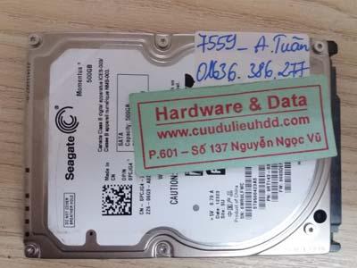 7559 Seagate 500GB mất dũ liệu
