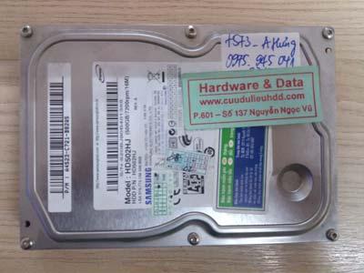 7573 Samsung 500GB hỏng đầu từ