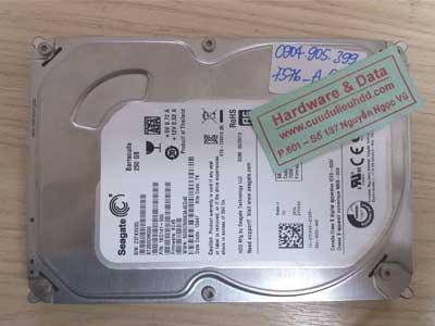 7576 seagate 250GB hỏng đầu từ