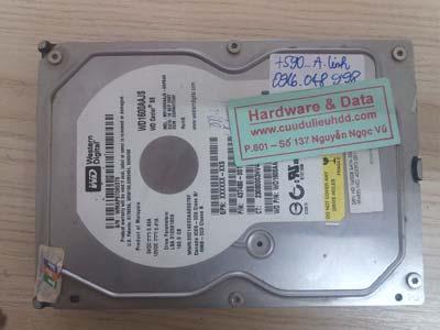 7590 Western 160GB mạch cháy cơ hỏng