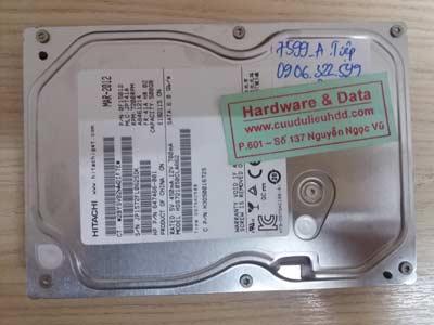 7599 Hitachi 500GB Virus mã hóa dữ liệu