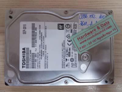 7611 Tosshiba 500GB virus mã hóa dữ liệu