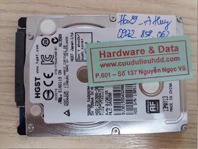 7629 Hitachi 500GB virus mã hóa
