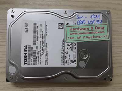 11-5 Toshiba 1TB mất dữ liệu