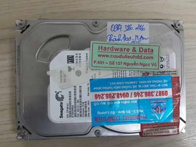 23-5 Seagate 250GB lỗi cơ