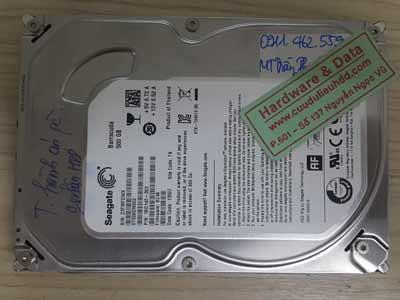 23-5 Seagate 500GB hỏng cơ