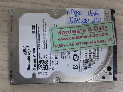 26-5 Seagate 500GB chết cơ