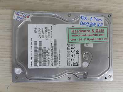 7606 Hitachi 500GB đầu từ hỏng