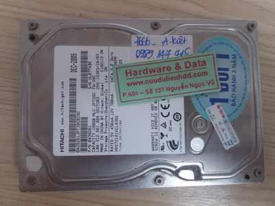 7666 Hitachi 160GB hỏng cơ