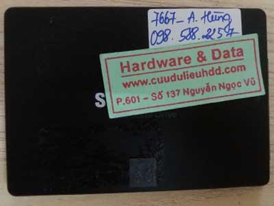 7667 Seagate 1TB format mất dữ liệu
