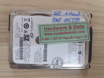 7682 Fujitsu 120GB chết cơ