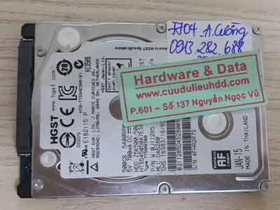 7704 Hitachi 500GB lỗi đầu từ
