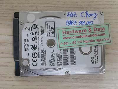 7717 Hitachi 320GB hỏng đầu từ