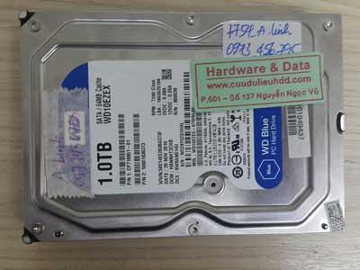 7754 Western 1TB format mất dữ liệu