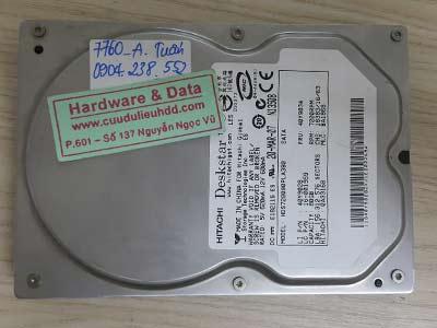 7760 Hitachi 80GB hỏng chân SATA