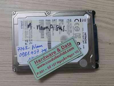 7768 hitachi 500GB đầu từ hỏng