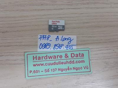 7778 thẻ nhớ sandisk 32GB