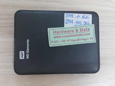 7788 box Western 500GB mất dữ liêu