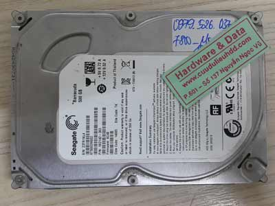 7800 Seagate 500GB chết cơ