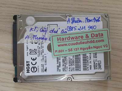 16-6 Hitachi 750GB đầu từ lỗi