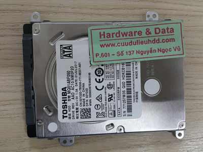 2-6 Toshiba 500GB mất dữ liệu