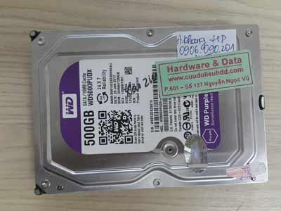 2-6 Western 500GB chết cơ