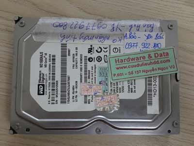 23-06 Western 160GB không nhận