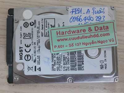 7791 Hitachi 320GB lỗi cơ