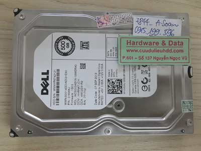 7844 Western 500GB bị bad